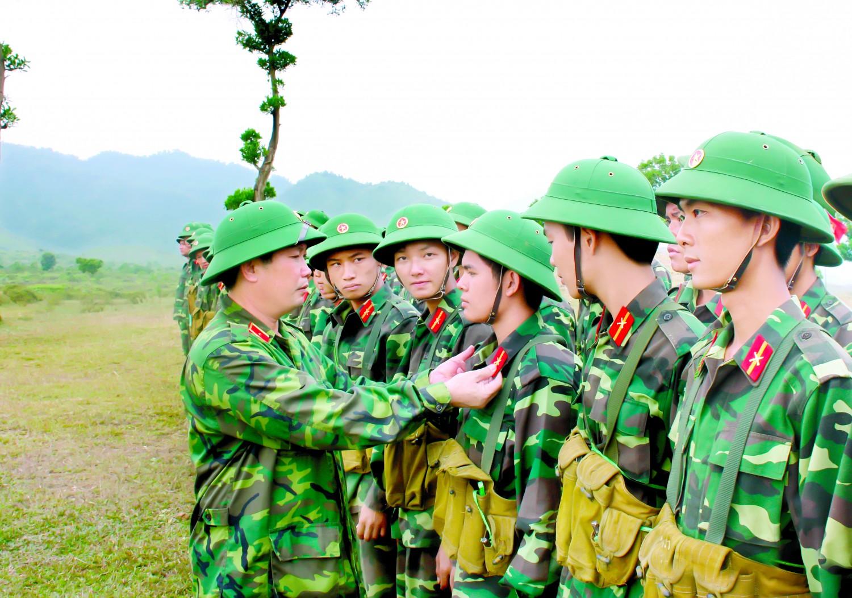 Có sự khác biệt về khu vực tuyển sinh của các trường quân đội