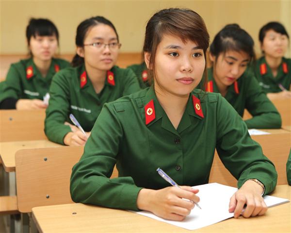 Cần nắm rõ tổ hợp thi để chọn môn học phù hợp giúp bạn đỗ vào trường quân đội