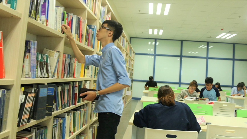 ĐH Kinh Tế Quốc Dân có cơ sở vật chất rất tốt cho sinh viên