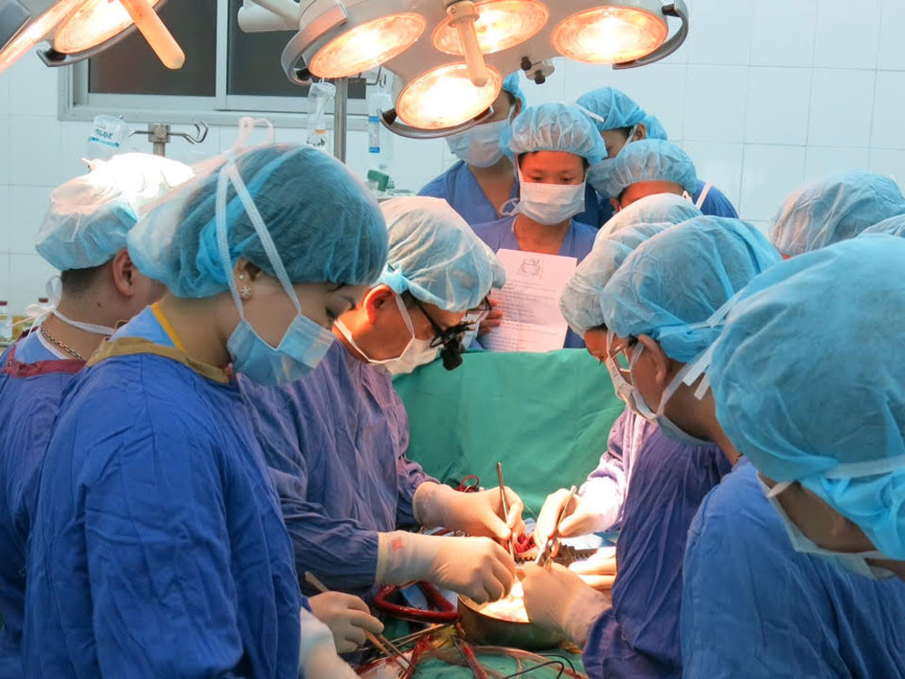 Kỹ thuật ghép tạng thành công tại Việt Nam cũng được truyển tải tại Học viện Quân Y